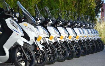 33 SYM scooters στις υπηρεσίες του Δήμου Θεσσαλονίκης