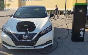 Συνεργασία Nissan και Blink Charging Hellas