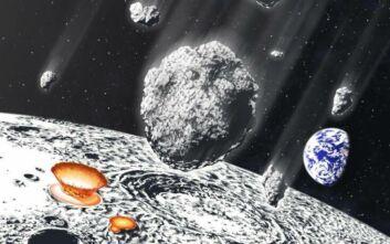 «Βροχή μετεωριτών» έπληξε με αδιανόητη σφοδρότητα τη Σελήνη πριν από 800 εκατ. χρόνια