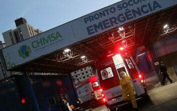 Βραζιλία: νέοι 555 θάνατοι λόγω κορονοϊού, 24.578 κρούσματα μόλυνσης από τον κορονοϊό σε 24 ώρες