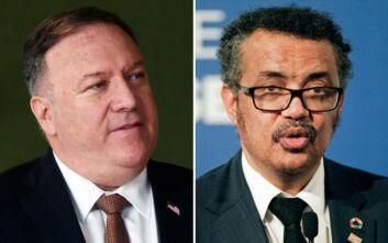 «Ο Αμερικανός ΥΠΕΞ κατηγορεί τον επικεφαλής του ΠΟΥ ότι εξαγοράστηκε από την Κίνα»