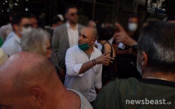 Μπογδάνος και Κασιδιάρης σε συγκέντρωση κατοίκων της πλατείας Βικτώριας για το μεταναστευτικό