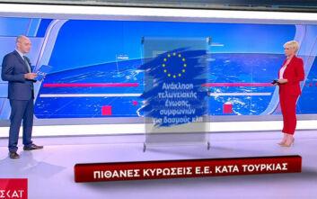 Οι πιθανές κυρώσεις της Ευρώπης κατά της Τουρκίας