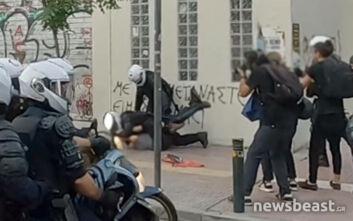 Τρεις συλλήψεις κατά τη διάρκεια επεισοδίων στην ΑΣΟΕΕ