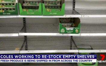 Σπεύδουν στα σούπερ μάρκετ οι κάτοικοι της Μελβούρνης, αυστηρά μέτρα σε ισχύ και πάλι από απόψε