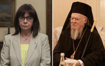 Επικοινωνία Σακελλαροπούλου - Βαρθολομαίου με επίκεντρο την Αγία Σοφία