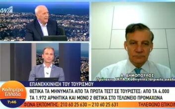 Δημόπουλος: Η πανδημία είναι σε πλήρη εξέλιξη
