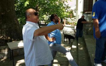 Νέο σκηνικό έντασης στις Σταγιάτες - «Κάτοικοι αποδοκίμασαν τον Αχιλλέα Μπέο, ο οποίος απειλούσε και έβριζε»