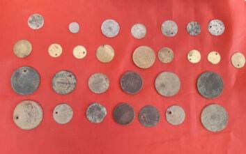 Σέρρες: Χειροπέδες σε 51χρονο αρχαιοκάπηλο με 44 αρχαία νομίσματα