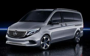 Το μέλλον των επαγγελματικών Mercedes είναι ηλεκτρικό