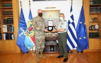 Στην Ελλάδα ο διοικητής των Ειδικών Επιχειρήσεων του ΝΑΤΟ