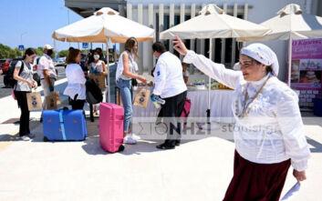 Οι πρώτοι Ολλανδοί τουρίστες προσγειώθηκαν στη Μυτιλήνη
