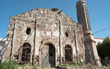 Διακοπή χρηματοδότησης για τα έργα στο Βαλιδέ τζαμί ζήτησε ο περιφερειάρχης Βορείου Αιγαίου