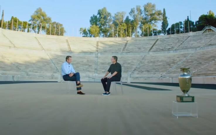 Ο Κυριάκος Μητσοτάκης εξήγησε γιατί δεν πήγε στον τελικό του Euro 2004