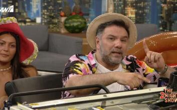 The 2 Night Show: Όσα είπε ο Γρηγόρης Αρναούτογλου για «Μύγες» και Άγριες Μέλισσες στο φινάλε