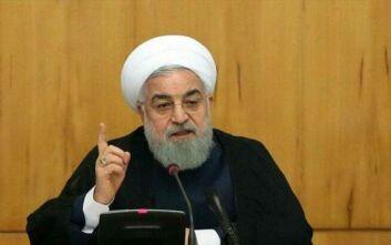 """Πρόεδρος Ιράν: «Όσοι έχουν μολυνθεί από τον κορονοϊό έχουν """"θρησκευτικό καθήκον"""" να ειδοποιούν τους άλλους»"""