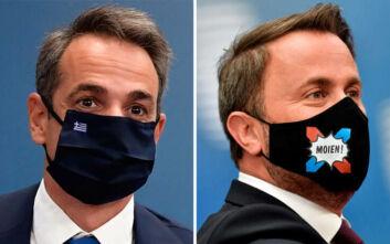 Σύνοδος Κορυφής εν μέσω κορονοϊού: Πρωτότυπες μάσκες και δώρο στη Μέρκελ για τα γενέθλιά της