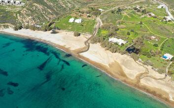 Η παραλία της Σερίφου με τα δύο «πρόσωπα»