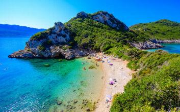 Η άγνωστη στο ευρύ κοινό διπλή παραλία της Κέρκυρας