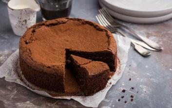 Κέικ σοκολάτας χωρίς αβγά
