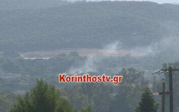 Οι πρώτες εικόνες από την φωτιά στο Λουτράκι - Πύρινα μέτωπα και στις Κεχριές