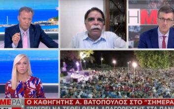 Ανησυχία από τις εικόνες συνωστισμού σε γλέντι στου Γουδή - Βατόπουλος: Ίσως πρέπει να απαγορευτούν τα πανηγύρια