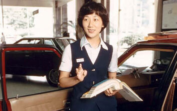 Η πρώτη σχεδιάστρια αυτοκινήτων της Ιαπωνίας