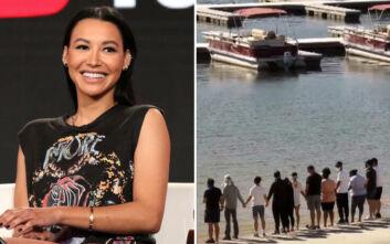 Naya Rivera: Οι πρωταγωνιστές του «Glee» την αποχαιρέτησαν πιασμένοι χέρι-χέρι
