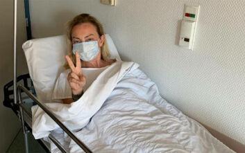 Στο νοσοκομείο η Ρούλα Ρέβη