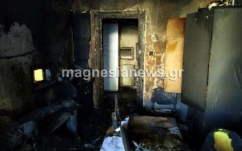 Βόλος: Εμπρησμός στο κτίριο της Περιφερειακής Ενότητας Μαγνησίας