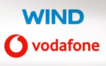 Νέο deal: Κοινή εταιρεία δημιουργούν Wind και Vodafone