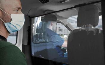Προστατευτικές ασπίδες για τους επιβάτες επαγγελματικών van