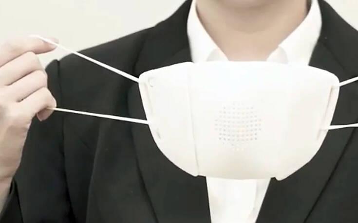 Η μάσκα για τον κορονοϊό που λειτουργεί και ως προσωπικός… διερμηνέας – Newsbeast