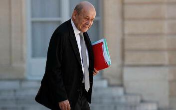 Δεν αποκλείει επιβολή νέων κυρώσεων σε βάρος της Άγκυρος ο Γάλλος ΥΠΕΞ, Ζαν-Ιβ Λε Ντριάν