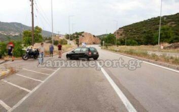 Λαμία: Όχημα «βγήκε» στο αντίθετο ρεύμα χωρίς να το καταλάβει ο οδηγός