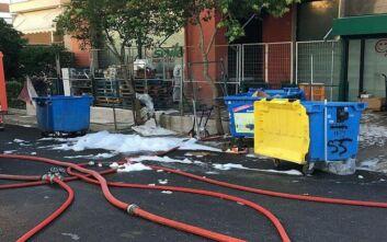Θεσσαλονίκη: Εικόνες από την διάσωση τριών ατόμων και ενός βρέφους από φλεγόμενο κτίριο