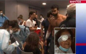Ελληνίδα περιγράφει την τραγωδία στη Βηρυτό: «Έχασα το μάτι μου στην έκρηξη»