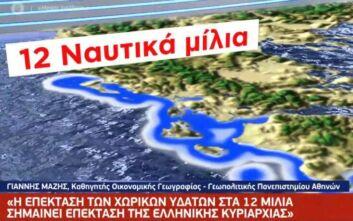 Τι σημαίνει η επέκταση της αιγιαλίτιδας ζώνης στα 12 ναυτικά μίλια