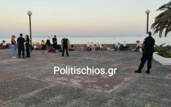 Απόβαση 23 Τούρκων στη Χίο που ζητούν άσυλο