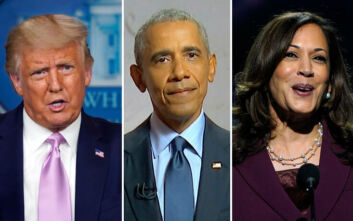 Επίθεση Τραμπ σε Ομπάμα και Χάρις: «Ρατσιστή» έλεγε η Χάρις τον Μπάιντεν, «ηλίθιες» οι συμφωνίες Ομπάμα
