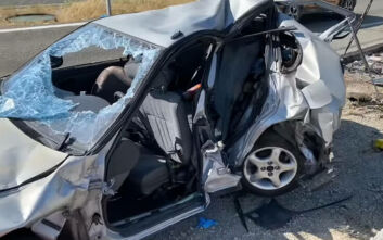 Τραγωδία στην Αλεξανδρούπολη: Οι πρώτες εικόνες από το δυστύχημα - Άμορφη μάζα το όχημα