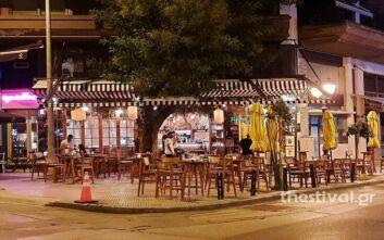 Πρώτη μέρα των μέτρων στη Θεσσαλονίκη - Άδειασαν τα μεσάνυχτα εστιατόρια και μπαρ