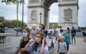 Γαλλία: Πρόστιμα στο Παρίσι σε διαδηλωτές που δεν φορούσαν μάσκα