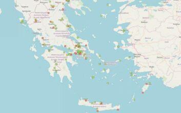 Τα 233 σημεία στην Ελλάδα που υπάρχουν αποθήκες με νιτρικό αμμώνιο