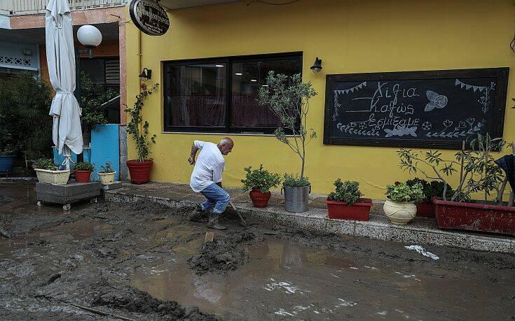 Ανείπωτη τραγωδία στην Εύβοια: 7 νεκροί, 1 αγνοούμενος και 2.500 περίπου κατεστραμμένα σπίτια