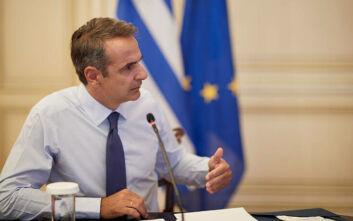 Ενημερώνει αύριο τους πολιτικούς αρχηγούς ο Μητσοτάκης για τις εξελίξεις στην Ανατολική Μεσόγειο