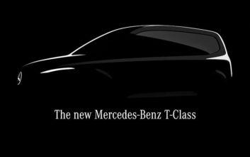 Mercedes-Benz T-Class: Ένα μικρό van για οικογένειες και μεταφορά επιβατών
