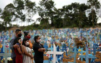 Βραζιλία: Οι νεκροί ξεπέρασαν τους 101.000, πάνω από 3.000.000 κρούσματα κορονοϊού