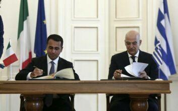 Δημοσιεύθηκαν στην Εφημερίδα της Κυβέρνησης οι συμφωνίες της Ελλάδας με Αίγυπτο και Ιταλία για τις ΑΟΖ
