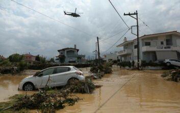Η ακτινογραφία της βροχής στην Κεντρική Εύβοια